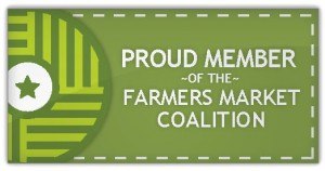 Farmers Market Coalition Badge