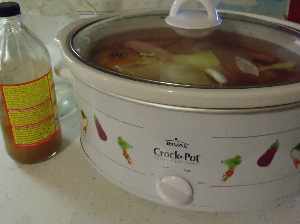 Stock in a Crock Pot
