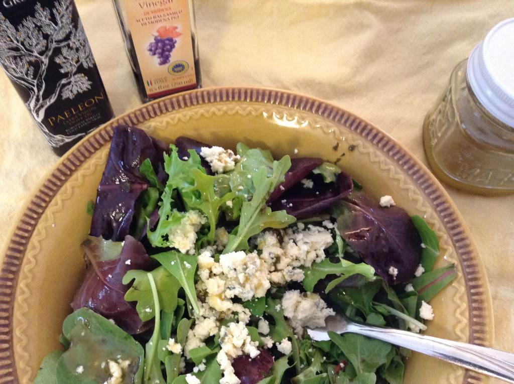 Salad with Blue Cheese